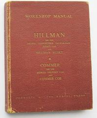 Hillman/Commer Factory Workshop Manual
