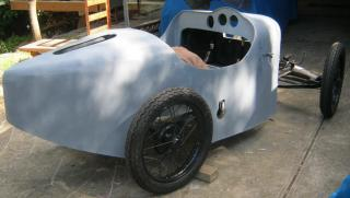 AUSTIN SEVEN GORDON ENGLAND BROOKLANDS body only