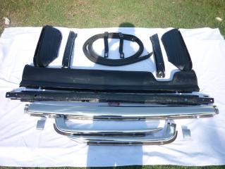Car Bumpers Mercedes Benz W107 EU