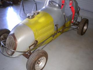 CLASSIC MIDGET RACER 3/4 SPEEDCAR OLD DIRT TRACK CAR