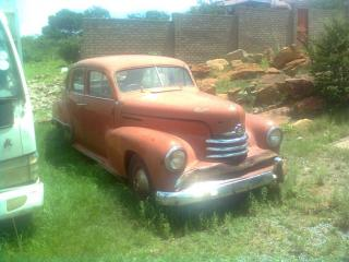 1951 complete opel kapitan great restoring project