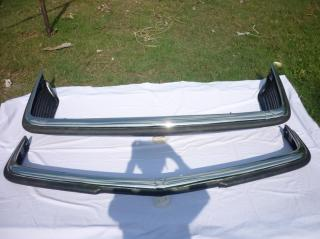 Stainless Steel bumper for Mercedes W107